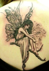 Angel Tattoos For Women 52 206x300 Angel Tattoos For Women   How Angel tattoo templates that you want a great view