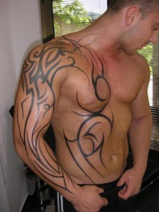 Star Tattoos 4 224x300 Star tattoos for men