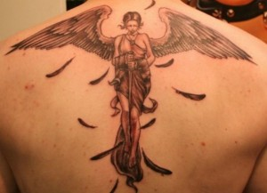 angel tattoo designs 3 300x217 The old angel tattoo designs