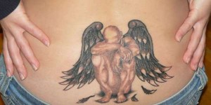angel tattoo designs 4 300x150 The old angel tattoo designs