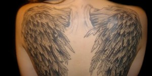 angel wings tattoos beauty 23 300x150 Angel Wings Tattoos heavenly beauty