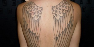 have tattoo angel 22 300x150 If you have a tattoo of angel wings