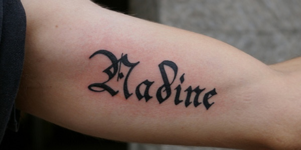 Name Tattooed 21 300x150 Tattoo A
