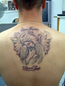 all about angel tattoos 4 225x300 All About Tattoos of Angels