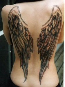 all about angel tattoos 8 224x300 All About Tattoos of Angels