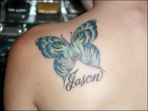 butterfly tattoos for girls 3 300x225 Butterfly Tattoos for Girls and Women   Symbolism of a Favorite Tattoo Design